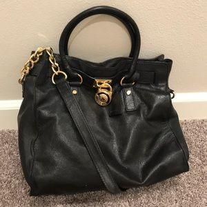 Michael Kors Black Hamilton Bag